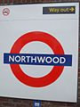 Northwood station roundel.JPG