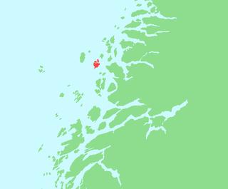Storselsøya island in Nordland, Norway