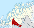 Norway Troms - Bardu.svg
