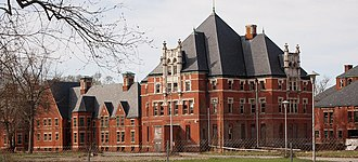 Norwich State Hospital - Image: Norwich Hospital District Admin Building (5804251174)
