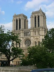View of Notre Dame from Petit Pont
