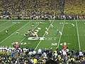 Notre Dame vs. Michigan football 2013 04 (Michigan on offense).jpg