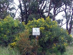 Nowergup, Western Australia - Image: Nowergup sign