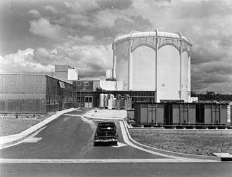 Australian Atomic Energy Commission - HIFAR reactor at Lucas Heights, 1958