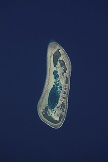 Atoll in Tuvalu