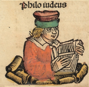 Philo - Woodcut from Die Schedelsche Weltchronik (Nuremberg Chronicle)