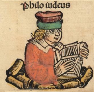 Philo - Woodcut from Die Schedelsche Weltchronik (Nuremberg Chronicle)