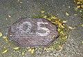 O5 manhole cover, botanical garden of Schönbrunn.jpg