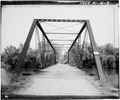 OBLIQUE VIEW, SOUTH END - White River Bridge, Spanning Honey Creek on Bieneman Road, Burlington, Racine County, WI HAER WIS,51-BURL,4-3.tif