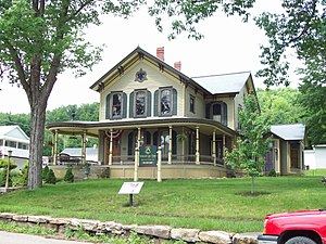 National Register of Historic Places listings in Elk County, Pennsylvania - Image: OB Grant House Jun 09