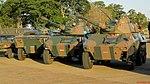 O 13º Regimento de Cavalaria Mecanizada (13º RCMec) ou Esquadrão Anhanguera, expondo os blindados no Domingo Aéreo 2015 em Pirassununga-SP. A junção do 2º Regimento de Carros de Combate e do - panoramio.jpg