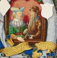 O príncipe Géza da Hungria e a sua esposa Sarolta da Transilvânia - The Portuguese Genealogy (Genealogia dos Reis de Portugal).png