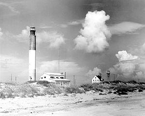 National Register of Historic Places listings in North Carolina - Oak Island Lighthouse, Caswell Beach