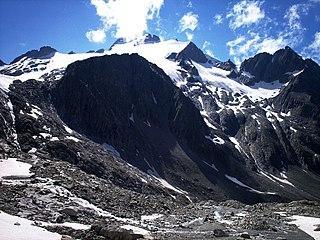 Oberalpstock mountain in Switzerland