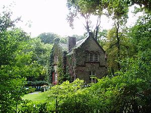 Description: gate-keeper house at Obertor, nor...