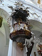 Ochsenhausen klosterkirche 008 Pulpit