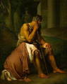 Oedipe et Antigone, Johann Peter Krafft (1809).png