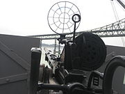 Oerlikon20 mm cannon on the SS Jeremiah O'Brien