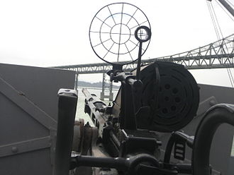 Oerlikon 20 mm cannon - The aiming sight of the Oerlikon gun