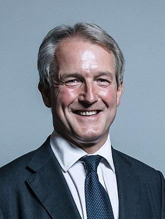 Owen Paterson - Image: Official portrait of Mr Owen Paterson crop 2