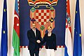 Official welcome ceremony was held for President Ilham Aliyev in Zagreb 17.jpg