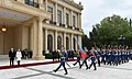 Official welcoming ceremony was held for Croatian President Kolinda Grabar-Kitarovic 17.jpg