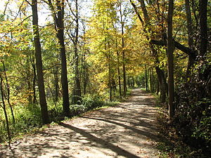 Cuyahoga Valley National Park - The Towpath Trail provides recreational activities for visitors.