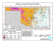 Wind Power In Oklahoma Wikipedia