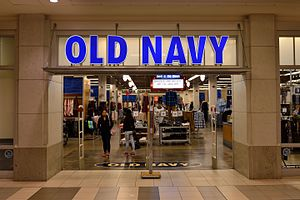 Old Navy - An Old Navy store in The Promenade Shopping Centre, Thornhill, Ontario