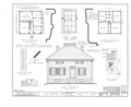 Old Baptist Parsonage, Snyder and Virginia Streets, Sublette, Lee County, IL HABS ILL,52-SUB,1- (sheet 1 of 2).png