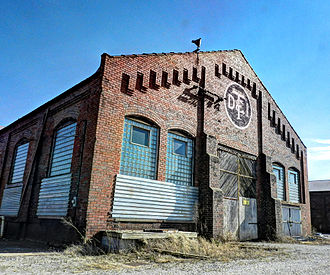 Detroit, Toledo and Ironton Railroad - Image: Old DT&I Railroad Shop