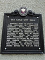 Old Iloilo City Hall historical marker at the main building of UP Visayas Iloilo Campus.jpg