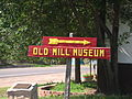 Old Mill Museum sign in Cimarron, NM IMG 0536.JPG