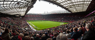 Old Trafford - Old Trafford during a match at the 2012 Summer Olympics