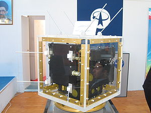 Iranian Space Agency - Omid satellite. Iran is the 9th country to put a domestically-built satellite into orbit using its own launcher and the sixth to send animals in space.