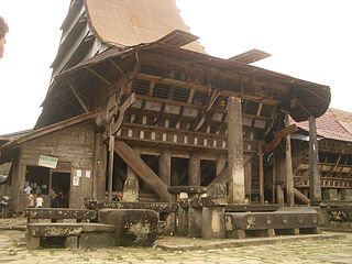 Traditional wood-made houses across Maritime Southeast Asia