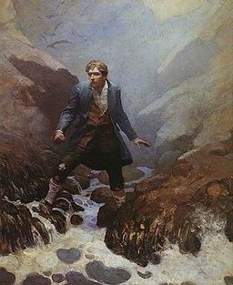 On the Island of Earraid (N.C. Wyeth)