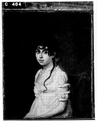 Lucia Catharina Stratenus (1780-1848). Echtgenote van Jonkheer Johan Gerard van Oldenbarneveld genaamd Witte Tullingh