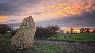 Soulton Long Barrow - Standing Stone Two