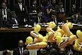 Oposição faz ato em Plenário contra projeto da terceirização.jpg