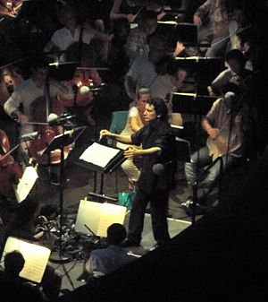 Alain Altinoglu - Directing Un Ballo in Maschera of Verdi, in Chorégies d'Orange 2013