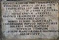 Oratorio del Loretino (San Miniato), lapide 01.jpg