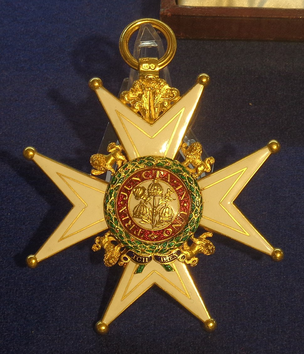 Order of the Bath grand cross military division badge (United Kingdom 1823) - Tallinn Museum of Orders