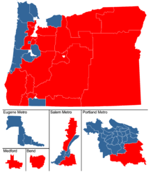 oregon state legislature district map Oregon House Of Representatives Wikipedia oregon state legislature district map