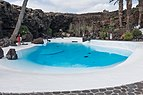 Ornamental pool in Jameos del Agua.jpg