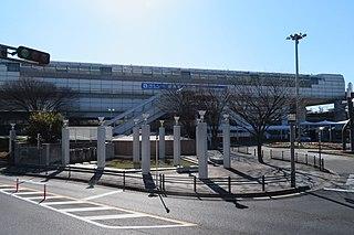 Shibahara-handai-mae Station Monorail station in Toyonaka, Osaka Prefecture, Japan