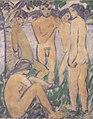 Otto Mueller - Fünf Akte am Wasser - ca1911.jpeg