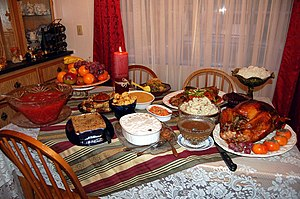 Thanksgiving dinner - (Almost Traditional) Thanksgiving Dinner