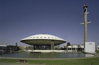 Evoluon - View from the south