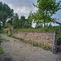 Overzicht van de jongere fruitmuur midden in de tuin - Voorschoten - 20406343 - RCE.jpg